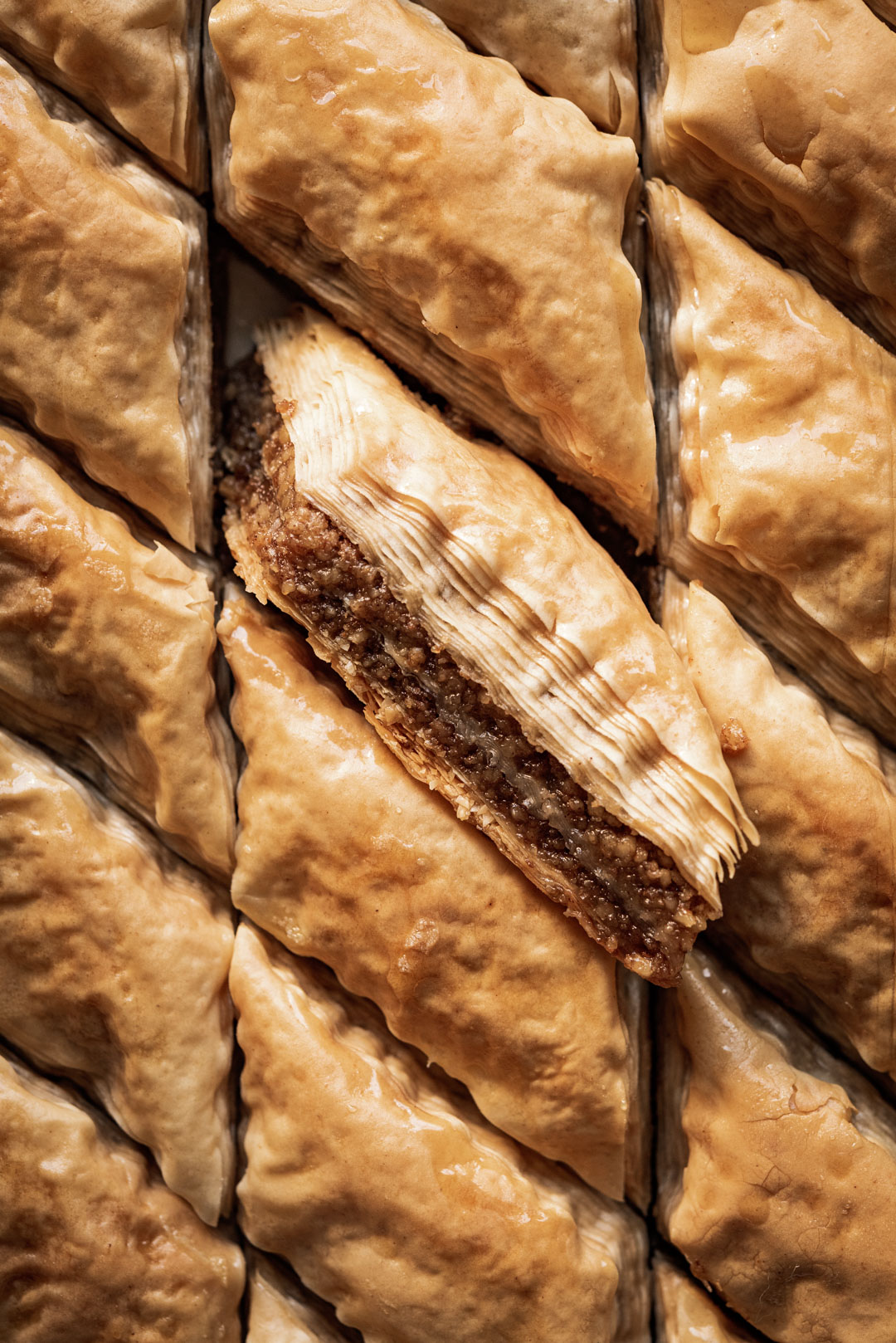 Classic Greek Baklava Ful Filled